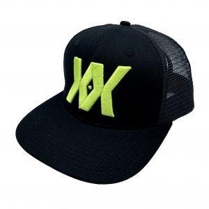 Trucker Hat Lime Side
