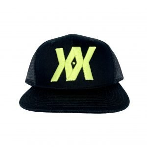 Trucker Hat Lime Front